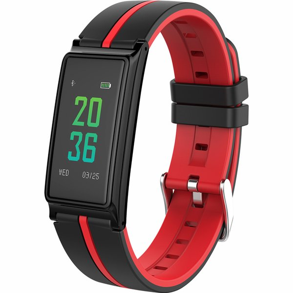 Новый цветной сенсорный ЖК-экран B5 Smart Band Монитор сердечного ритма Смарт-браслет Prssure Blood Браслет Фитнес-трек Pedometor Смарт-браслет
