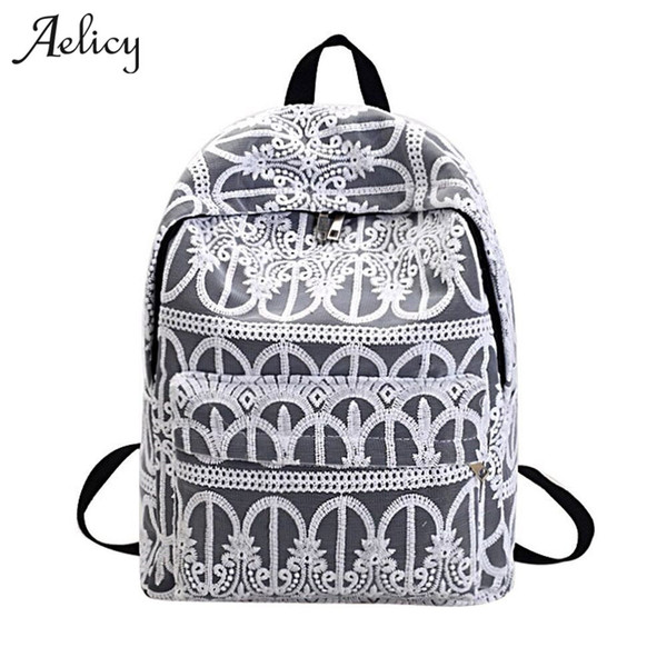 Aelicy Luxury New Lace Women Backpacks For Teenage Girls School Travel Leisure Laptop Backpack Female Backpacks Mochilas