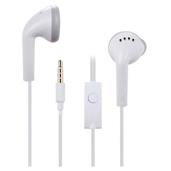Auricolare bianco casual Auricolari Auricolari Cuffie cablate con microfono per Samsung Galaxy S2 S3 S4 S5 Nota 2 3 4 I9300 N900