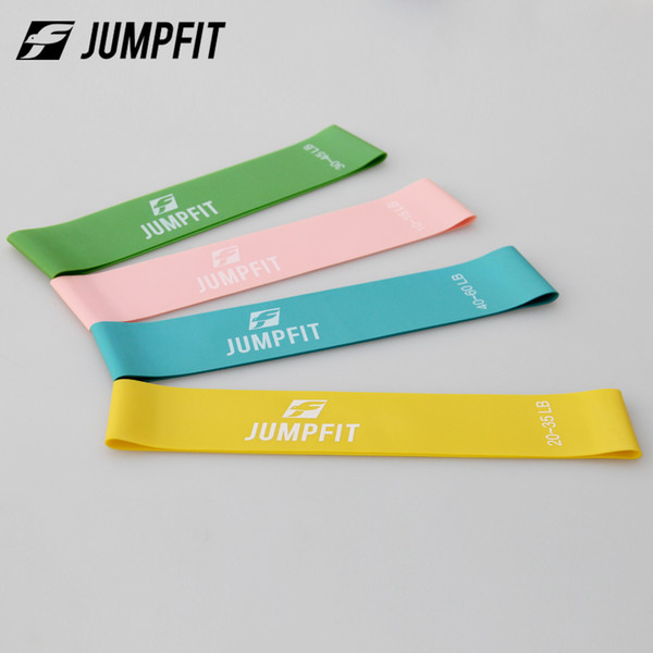 Free Shipping 4 Levels Latex Gym Strength Training Yoga Resistance Bands Exercise Body Fitness Loop Band 0.5/0.7/0.9/1.1mm