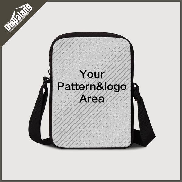 Customize Your Own Design Messenger Bag For School Custom Crossbody Shoulder Bags For Girls Boys Women Men Handbag Business Flap