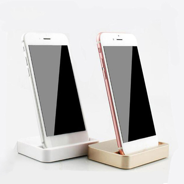 Universal Dock Charger Stand For iPhone 7 7 Plus 8 8 Plus Desktop Charging Dock Station Cradle For iPhone X With Retail Package