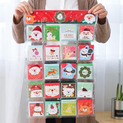 cartes de vœux indépendantes mini de bande dessinée cartes de remerciement anniversaire carte de Noël nouvelle enveloppe de l'année d'écriture papeterie de papier