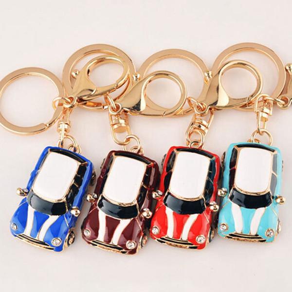 Car Alloy Keychain Keyring Pendant Car Model Key Chain Ring Holder For Mini Cooper Car Accessories
