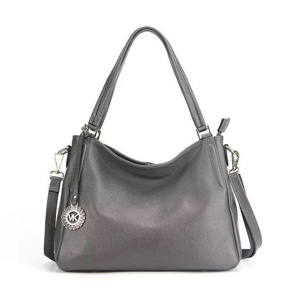 2018 New Arrival Women Shoulder Bag Lychee Pattern 100% Genuine Leather European and American Style Female Messenger Handbag F1887