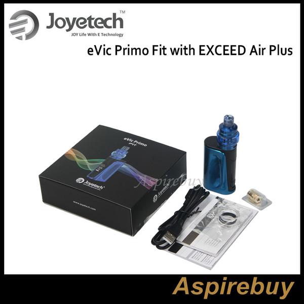 EXCED Hava Artı Kiti ile Joyetech eVic Primo Fit 80W EVIC Primo Fit Dahili bir 2800mAh Pil 3ML Tankı ile çalışan Olağanüstü Otantik