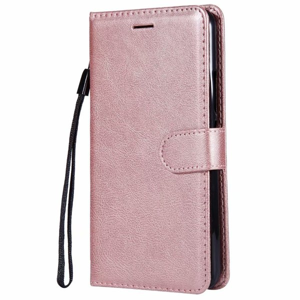 Wallet Case For Motorola Moto E4 Plus European Edition Flip back Cover Pure Color PU Leather Mobile Phone Bags Coque Fundas