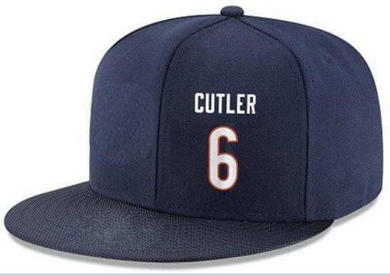 Snapback Hats Custom any Player Name Number #6 Cutler #89 Ditka Customized ALL Team caps Accept Custom Made Flat Embroidery Logo or Name