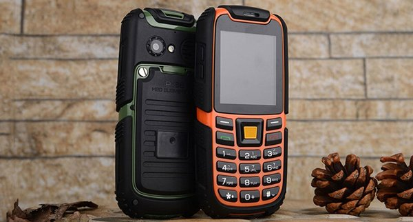 Russian S6 IP67 Waterproof 2500mAh Battery Long Standby Phone Shockproof Outdoor Phone Rugger Phone