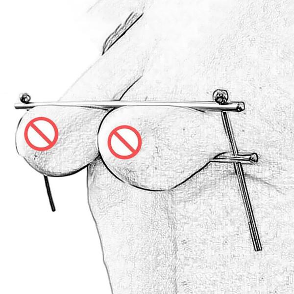 Clip de Pezón Ajustable Tortura Pecho Clips Restricción Tipo Simple Esclavo bdsm Juguetes Sexuales para Parejas Juego para Adultos