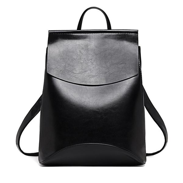 Fashion Designer High Quality Women Leather Backpack School Bags For Teenagers Girls Sac A Main Shoulder Bag Backpacks Mochilas