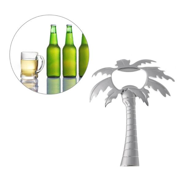 Coconut Tree Shaped Beer Bottle Opener Wedding Keepsake Personalized Stainless Steel Bottle Opener Bar Tools Party Favor Souvenir