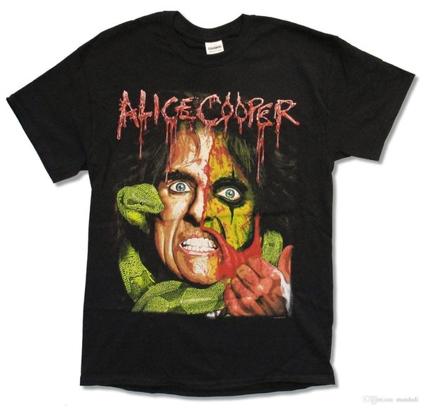 ALICE COOPER RAISE THE DEAD TOUR 2013 BLACK T-SHIRT NEW OFFICIAL MERCH