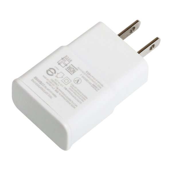 5V 2A USB 1 Ports Interface Travel EU US Plug USB Original Wall Charger Adapter For Samsung for iphoneXS/X/8/7/6 cellphone 500pcs/lot