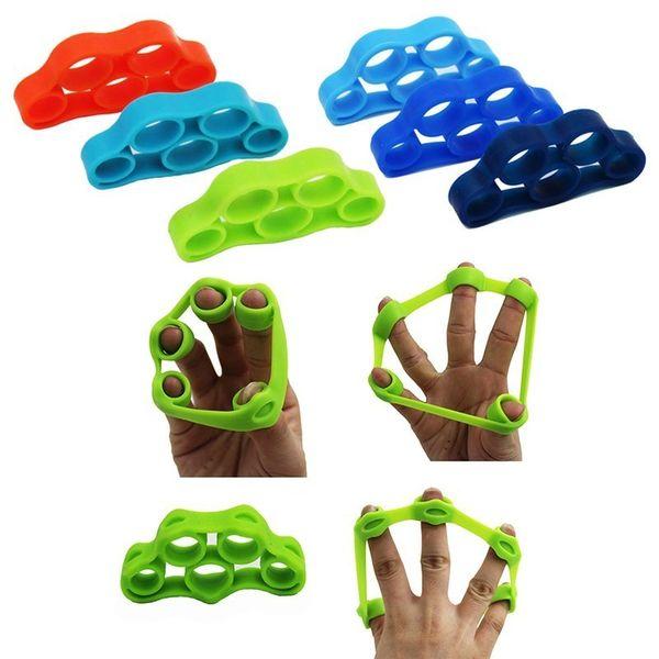 XC 1Pcs Finger Resistance Bands Round Resistance Ball Finger Exerciser Stretcher Griper to Exercise Fingers Fitness Equipment