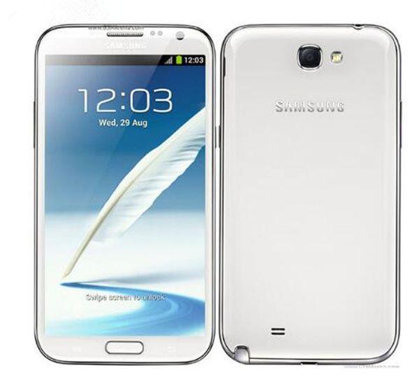 "Original Unlocked Samsung Galaxy Note 2 II N7100 N7105 5.5"" Quad Core 8MP GPS WCDMA Refurbished phones"