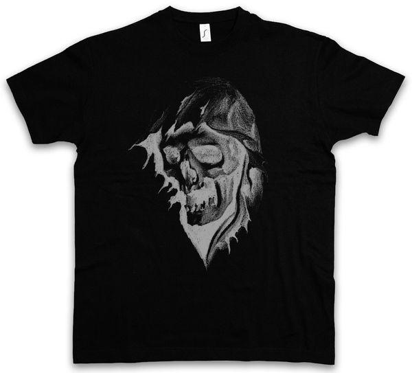 Grim Reaper Ii T-shirt You Belong To Me The Death Skeleton Falce Mantello Hood Estate maniche corte in cotone T Shirt Moda