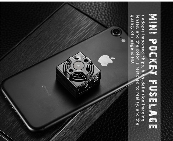 64GB WiFi Network Mini Camera 1080P HD Pocket Video Camera Mini Night Vision Camera Wireless Security Cam Suport IOS Android Remote View
