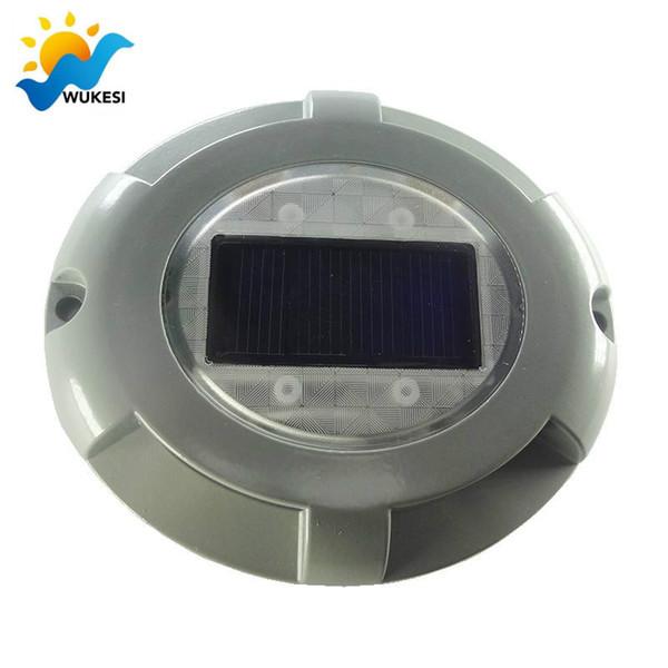 Solar Außenbodenleuchten, 4 LED Wasserdichte Abfragerasen Licht Landschaft  Angetriebenes Licht Für