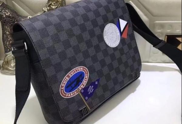 a30b34f615 LOUISVUITTONwomen Men Fashion Woman Bag Promotional Ladies Luxury PU  Leather Handbag Chain Shoulder Bag Plaid Women Crossbody Bag Mens Bags ...