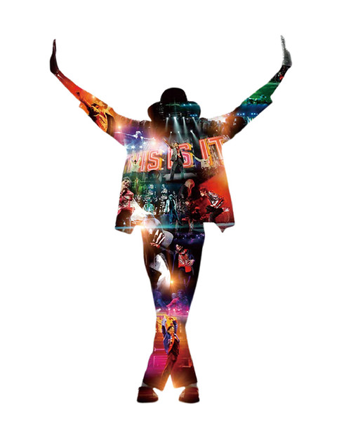 Michael Jackson Dancing Hot Music Singer Art Canvas Poster Modern HD Print Oil Painting Wall Art Painting