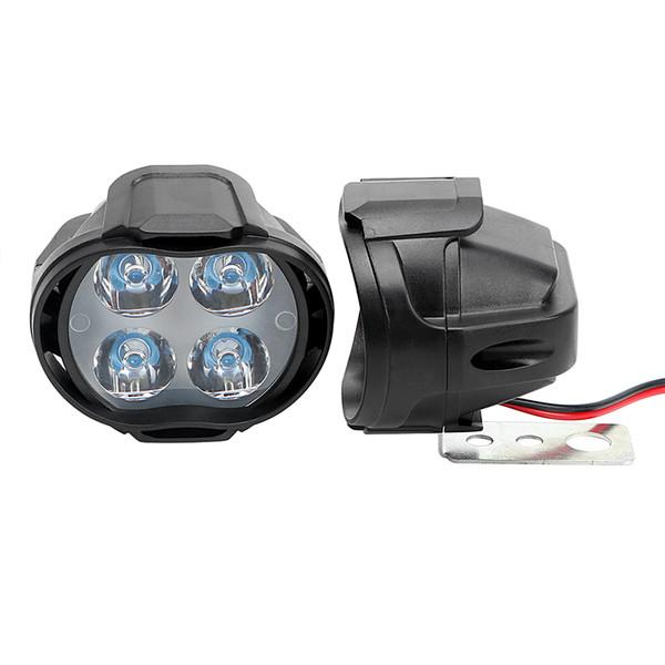 LED Motorcycle Headlight Motorbike Fog Lamp 800LM Working Spot Light Super Bright Scooters Spotlight White