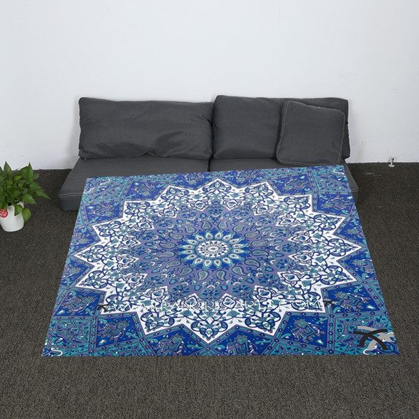 Vintage Bohemia High Quality Throw Blanket Fleece Blanket on The Bed Soft Flannel for Sofa Warm Bedspread