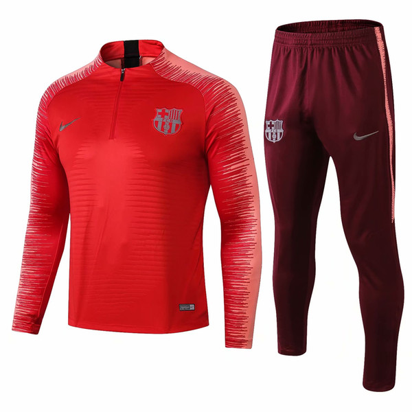 sale retailer c2dd5 5cd57 2018 New 2018 2019 Barcelona Mashup Training Wear Suarez 18 19 Red Fcb  Training Soccer Jersey Messi Pique Coutinho Barcelona Camiseta De Futbol  From ...