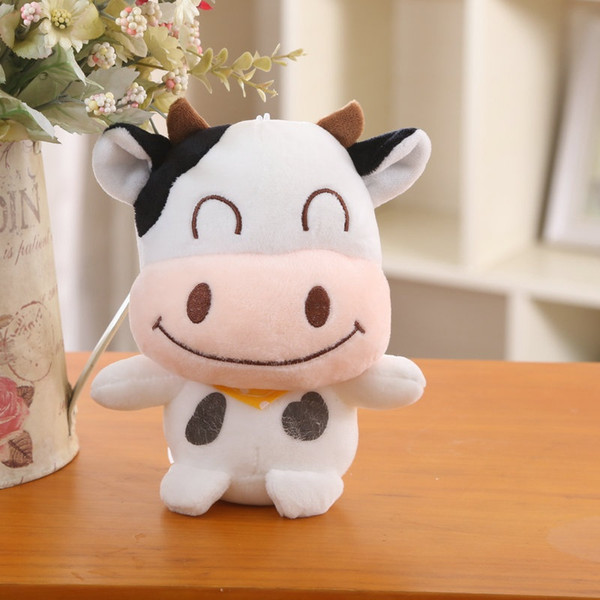 18CM Standing Cow Plush Stuffed Animal Toy - Special Price Super Cute Stuffed Cow Plush Dolls Animals Kids Toys Plush Toys For Children