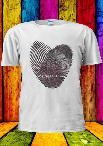 Dia dos namorados Coração Amor Presente Fresco T-shirt Das Mulheres Dos Homens do Tanque Top Unisex 2308