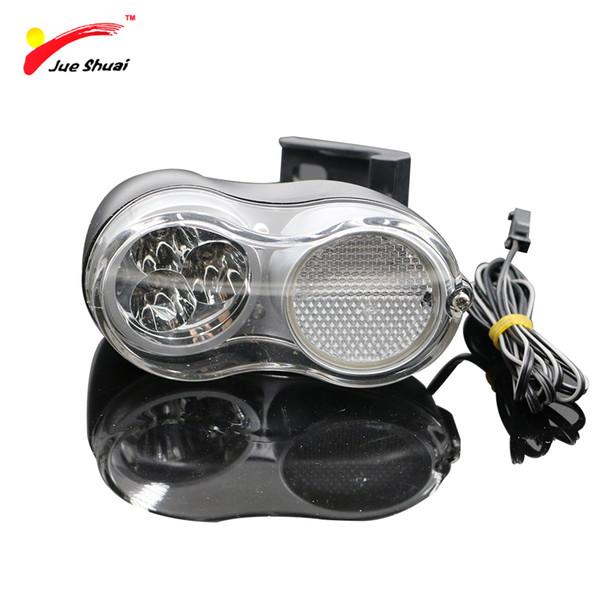 36V Elektrische Fahrrad Scheinwerfer Frontleuchte Wasserdichte Stecker 200 cm Draht Radfahren Zubehör Motorrad Ebike LED-Licht