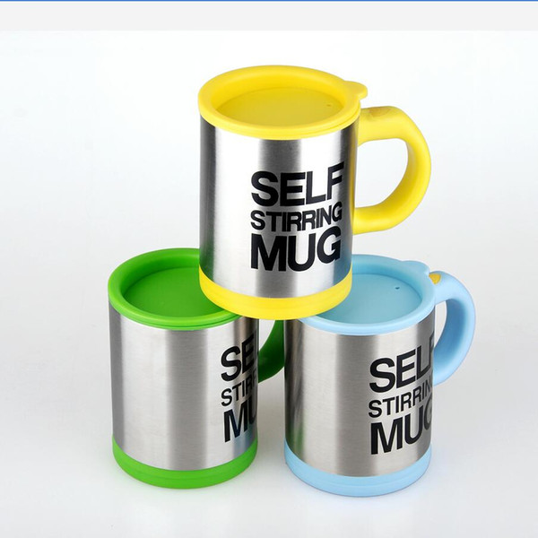 2018 Hot Selling Creative New Style Stainless Steel Automatic Self Stirring Mug