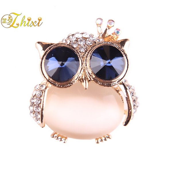 0e3f491a65f ZHIXI Simple And Stylish Brooches For Women Fine Jewelry White Brooch  Jewelry Trendy Anniversary Gift Flamingo
