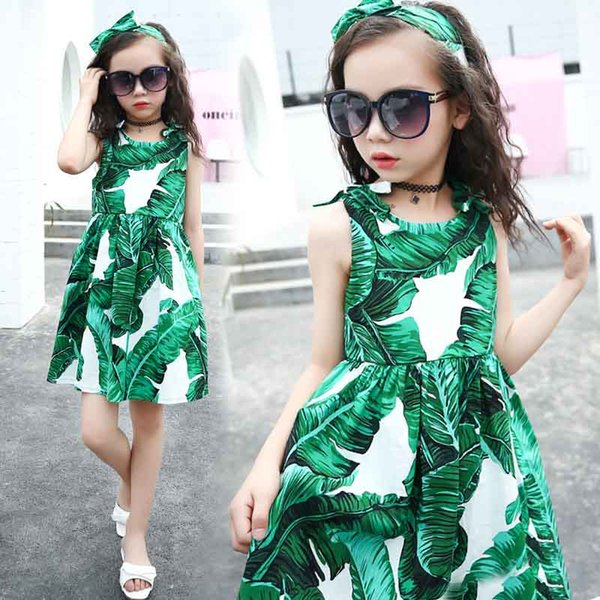 13effb1ed5e 2019 Latest Styles Baby Girls Dress Brand Summer Beach Style Floral Print  Party Backless Dresses For Girls Vintage Girl Clothing From Zzs_trading, ...