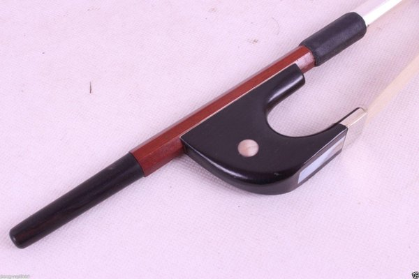 Yinfente 3/4 upright double bass Bow Bass Violin Bow German Style ebony frog pearl eye inlay Brazil wood Natural Horse hair