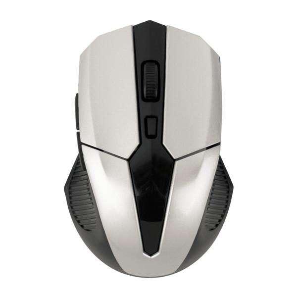 Qualidade superior Mini 6 Buttoms 2.4 GHz Sem Fio 1600-2000 DPI Mouse Óptico Ratos + USB 2.0 Receptor para PC Portátil A Laser De Rastreamento