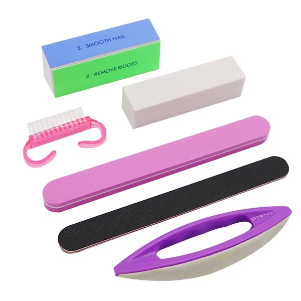 1Set Buffing Sanding Buffer Block Files Manicure Nail Art Tips Nail Brush Women Beauty Manicure Tools Buffer Sanding Polish