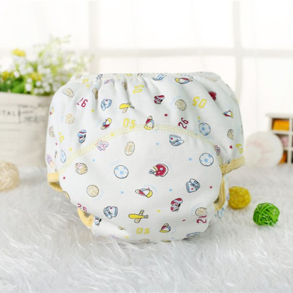 Baby Infant Nappies Reusable Newborn Swimwear Cute Baby Swimsuit Bathing Suit Adjustable Diapers for Babies Nappy Panties
