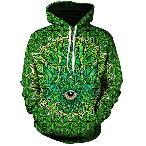 New Arrrval Fashion Men/Women Psychedelic Pattern Funny 3D Printed Crewneck Sweatshirt Hoodies Fashion Casual Hoodies H209