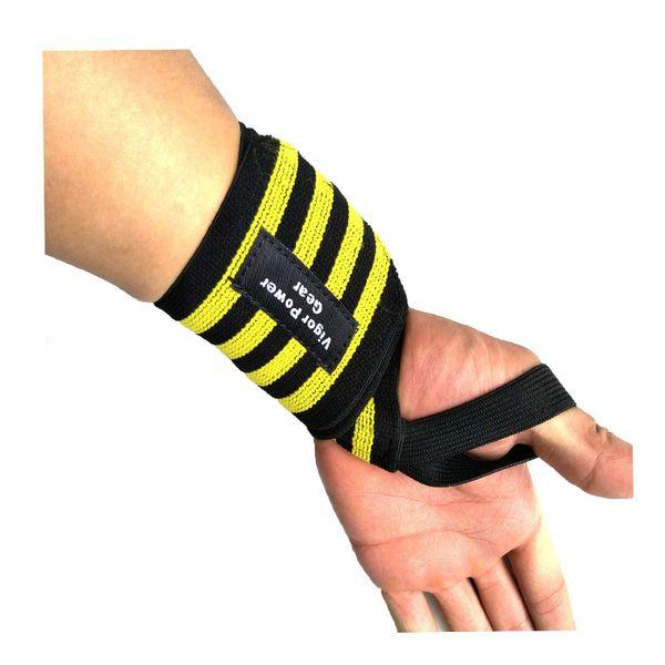 Pulseira de fitness pulso envolto em ataduras ginásio cintura apoio material elástico coon inclueded confortável