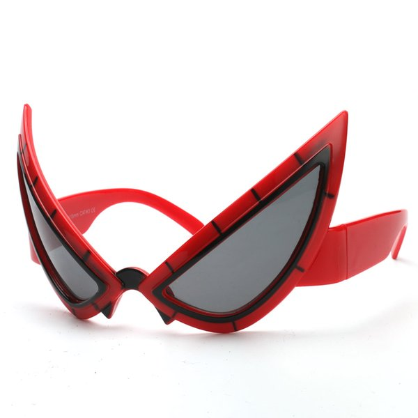 Cool Spiderman Costume Mask Funny Cosplay Super Hero Toy Glasses Halloween Photo Booth Props Birthday Party Decorations For Kids