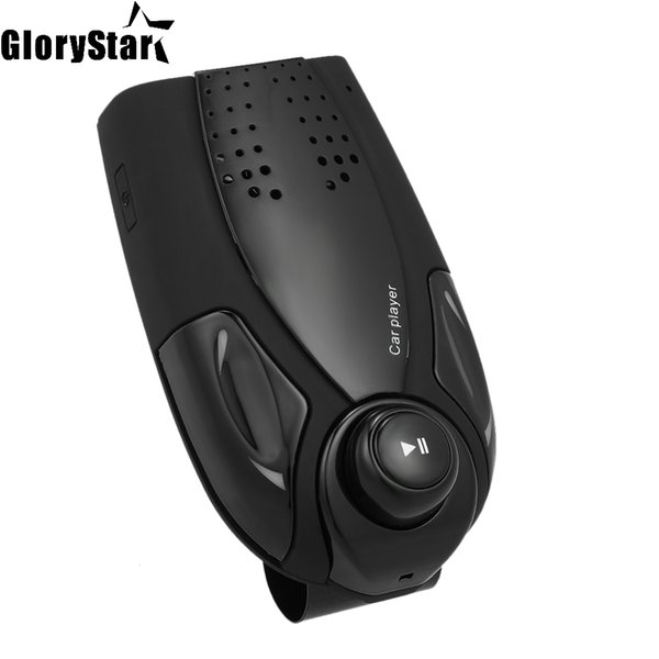 BT69 BT Player 4.0 Versión Manos libres Reproductor de MP3 Ranura para tarjeta TF en el automóvil Radio FM Pantalla LED 1000mAh Visor solar BT Car Kit