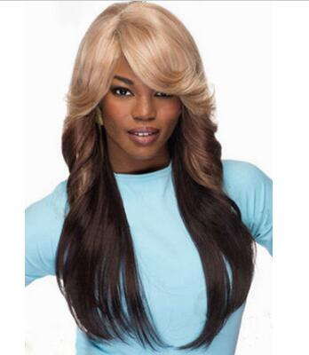 Blonde Brown Ombre Flip Synthetic Wig