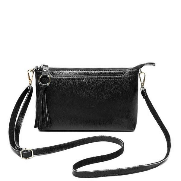 Genuine Leather Bag Women Messenger Bags Handbag Casual Vintage Female Crossbody Bag Soft Leather Clutch purse bolsa feminina