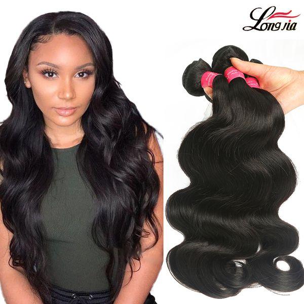Cheap Brazilian Body Wave Hair 100% Unprocessed Brazilian Virgin Human Hair Weave 3/4 Bundles Brazilian Body Wave Hair Extensions