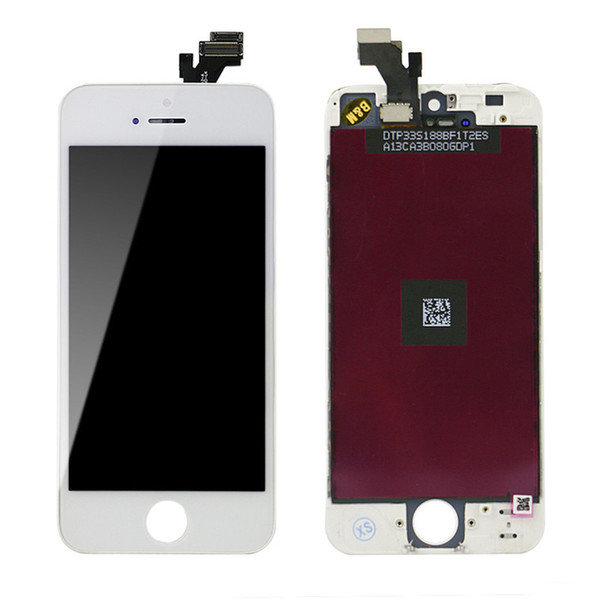 For Iphone 5 5g LCD Assembly With Touch Screen Digitizer Screen Replacement No Dead Pixel DHL Freeshipping