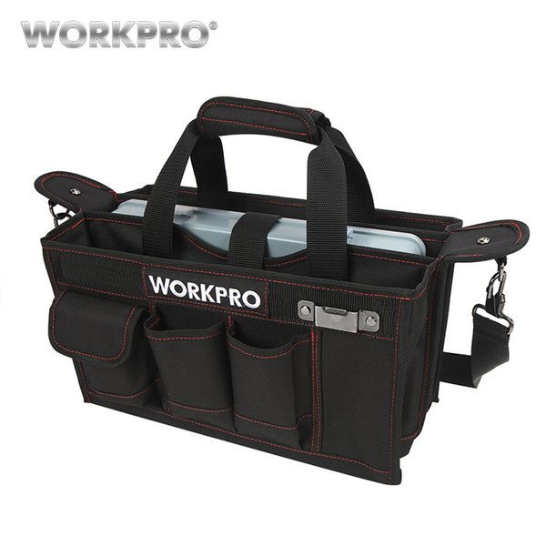 Инструмент WORKPRO ткань 600D сумка с ложемент Центра водонепроницаемый комплекты карманы сумки для Electrican сумки