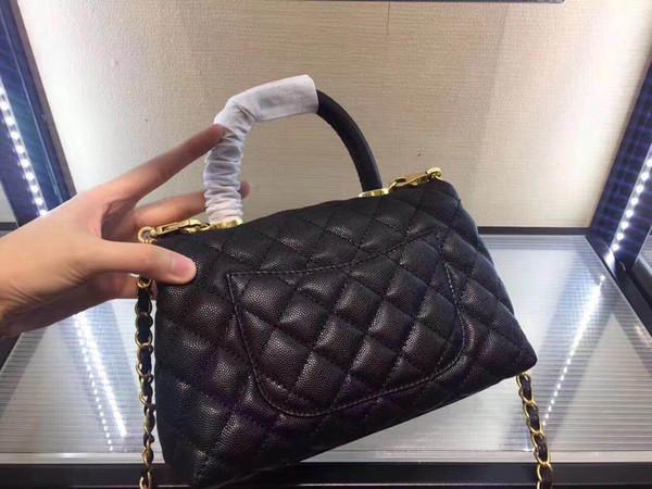 Luxury brand same with original bag top material shoulder crossbody bag messenger tote handbag genuine leather womens bag