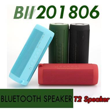 T2 Wireless Best Bluetooth Speaker Waterproof Portable Outdoor Wireless Mini Column Box Speakers Support TF Card Boombox free