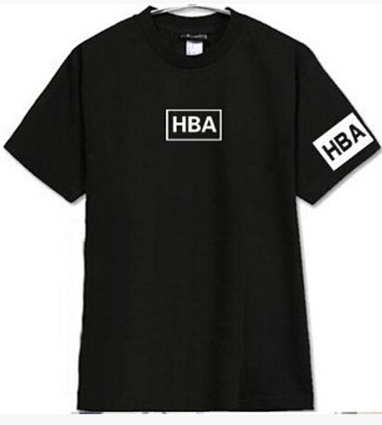 Sommer T-shirt Kapuze HBA Kanye West t-shirt HBA T-shirt 5 Farben Baumwolle Neue Mode Casual Tops